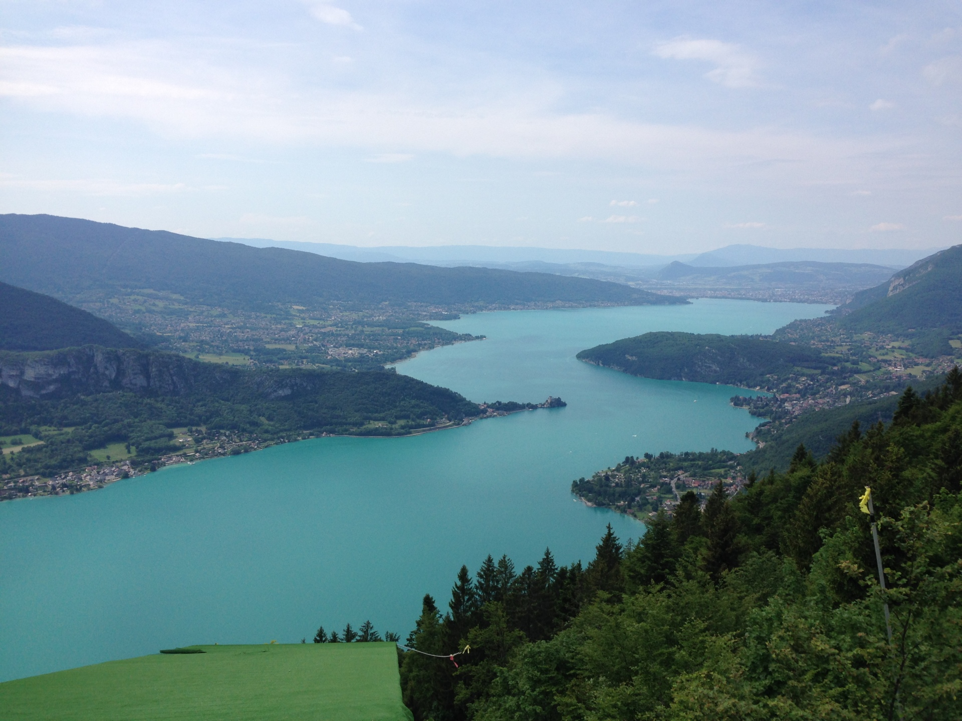 Lake Annecy....a full length, the hard way.
